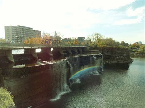 Rideau Falls by A Showcase Of Canada S Geography What Are Rideau Falls In