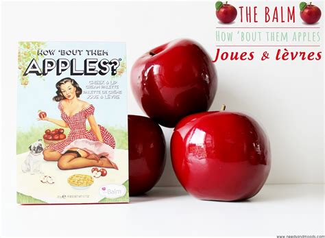 Thebalm How Bout Them Apple how bout them apples the balm revue swatch