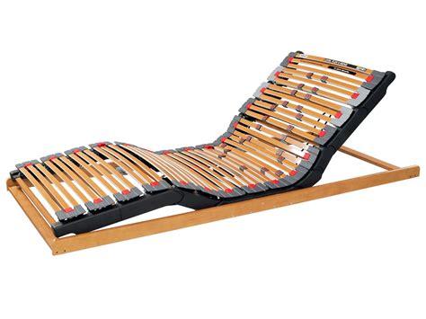 slatted electric adjustable bed base level flex ii move