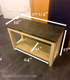 Storage Shoe Bench Diy Mudroom Bench From Scrap Wood Sawdust Sisters