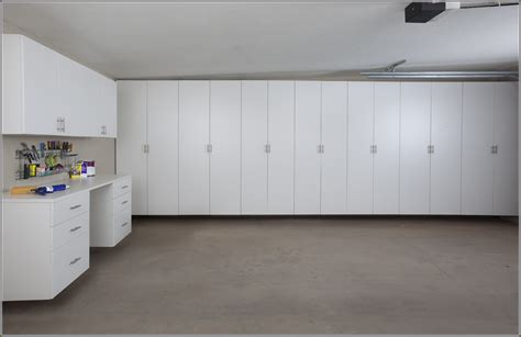 white garage wall cabinets how to make homemade garage