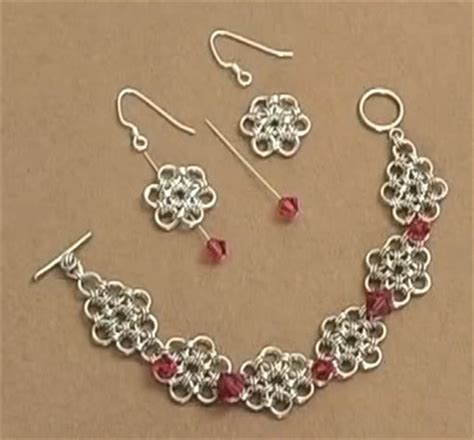 free chain maille jewelry patterns