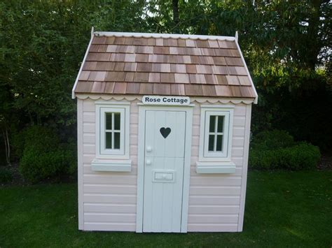 Pink Cottage Playhouse by 1000 Images About Cottage Playhouses On