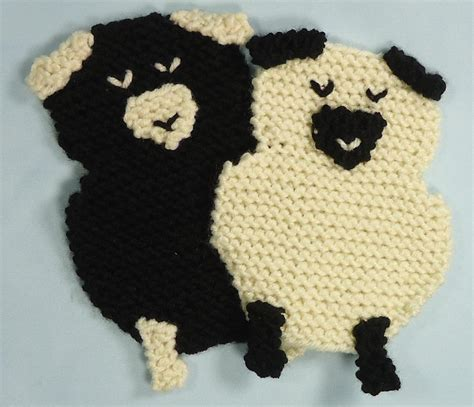 knitting pattern sheep motif 7 knitted coasters for tabletop protection decor