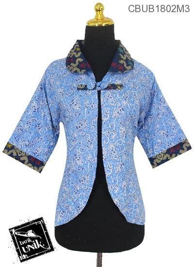 Batik Bolero Motif Bunga Hokokai Murah baju batik bolero bolak balik motif songket kombinasi