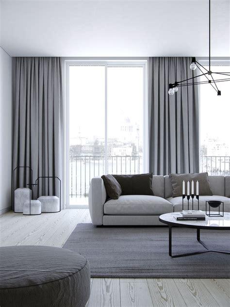 vorhange modern design apartment on behance curtain