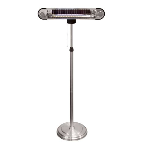 Shop Az Patio 5 118 Btu 120 Volt Stainless Steel Electric Patio Electric Heater