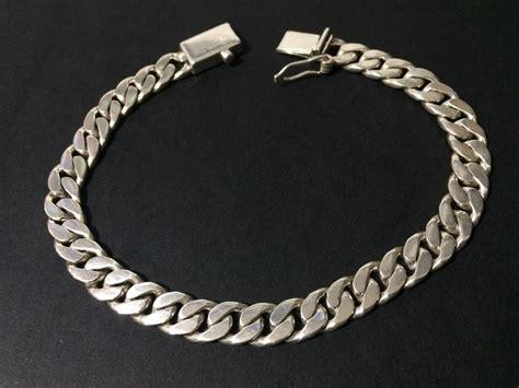cadenas de oro tejido cubano esclava tejido cubano para caballero plata 925 nueva