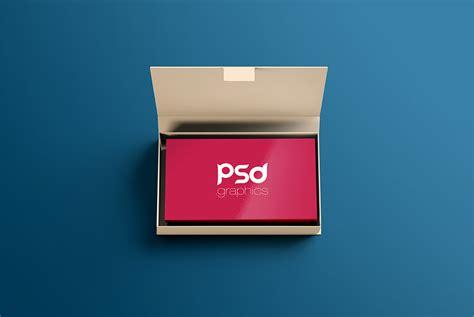 Business Card Box Mockup
