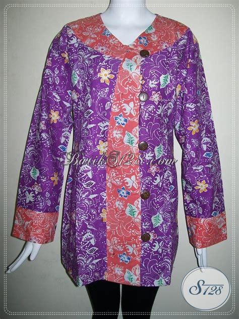 Dompet Wanita Azzurra Warna Ungu Kombinasi busana batik trendy kombinasi warna ungu dan pink blus
