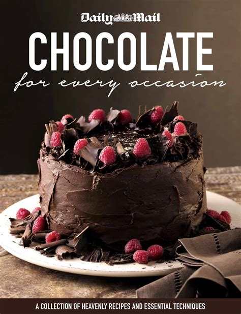 and a chocolate drizzle the cookbook books daily mail chocolate cookbook gwen glynn