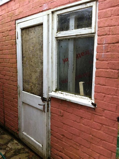 convert garrage door to windows upvc door window some brickwork garage conversion windows in watlington oxfordshire