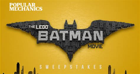 Movie Sweepstakes - popular mechanics the lego batman movie sweepstakes popularmechanics com legobatman