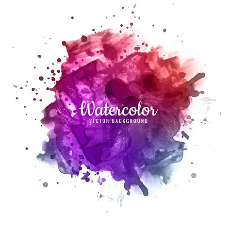 abstract brush stroke  design  colorful watercolor