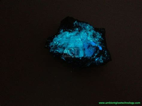 glow in the dark rocks night view of agt s sky blue glow rock designed for night