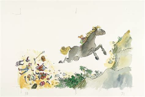 quentin blakes magical tales 1843651556 prepare for serious nostalgia at this quentin blake gallery londonist