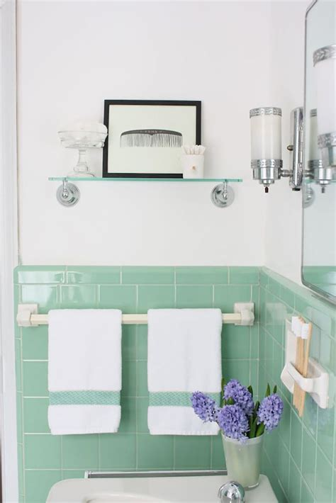 vintage bathrooms my mint amp pink bathroom the inspired