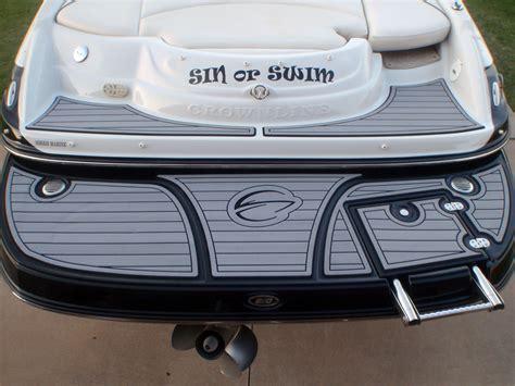 boat swim platform shower pin by seadek marine products on boating and seadek