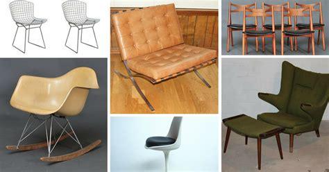 13 iconic mid century modern chairs estate sale blog