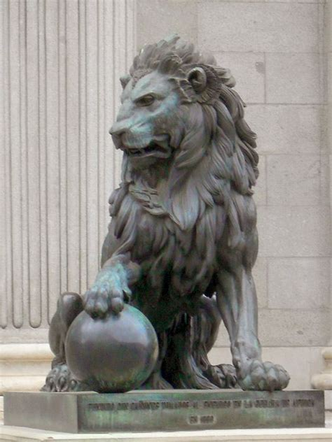 lion statue tattoo madrid statue spain madrid and lions