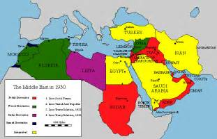 middle east map pre world war map of the middle east 1930