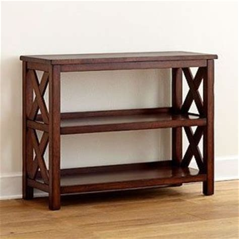 sofa table bookcase bookcase console table for the home juxtapost