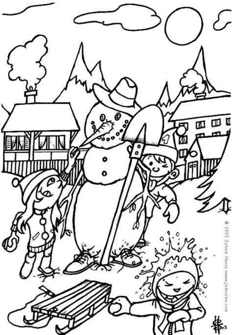 cuentos de navidad para colorear pintar im genes dibujos para colorear mu 241 eco de nieve para navidad es