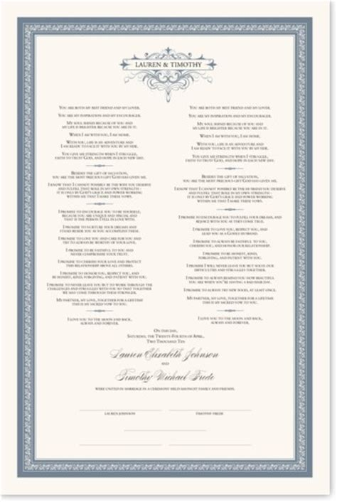 unique non traditional wedding vows and poetry documents and designs