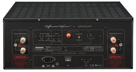 emotiva xpa  gen  monoblock power amplifier review