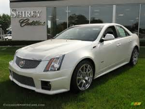 2012 Cadillac Cts V Sedan For Sale 2012 Cadillac Cts V Sedan In White Tricoat