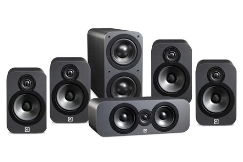 Q Acoustics 3020 Black Leather q acoustics 3020 5 1 speaker pack digital cinema