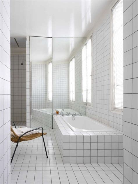 White Grout In Shower by 25 Best Ideas About White Tiles On Geometric