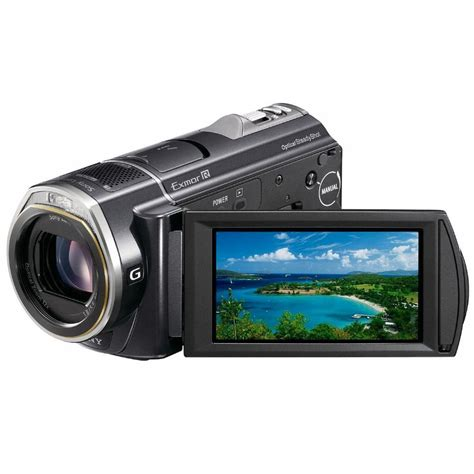 Memory Handycam Sony Sony Hdr Cx500 32gb High Definition Flash Memory Hdrcx500e B H