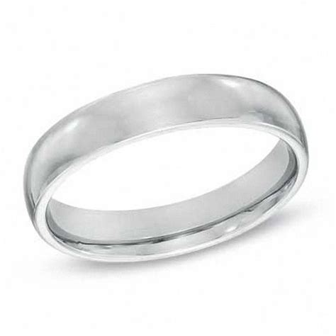 sterling silver comfort fit wedding bands ladies 4 0mm polished comfort fit wedding band in