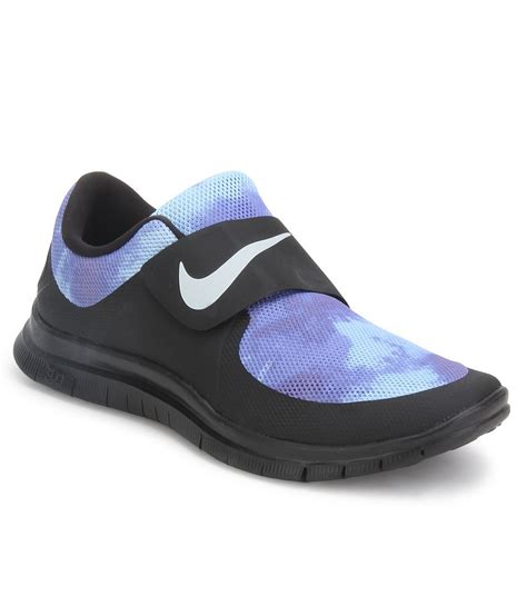 black nike sport shoes nike free socfly black sports shoes price in india buy