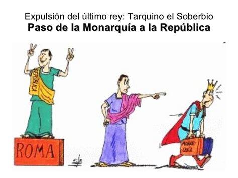 la repblica o el monarqu 237 a romana