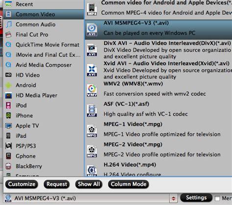 mxf video format convert panasonic p2 mxf video to avi mp4 format for playback