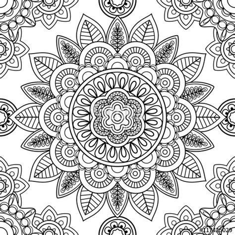 coloring pages vector quot ethnic boho seamless pattern coloring pages template