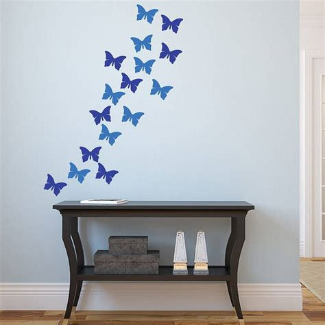 vinyl wall stickers butterflies vinyl wall stickers by mirrorin