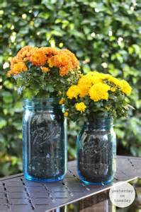 My Cottage Garden - happy fall mason jar gift and tags yesterday on tuesday