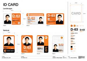 poj showcase design id card