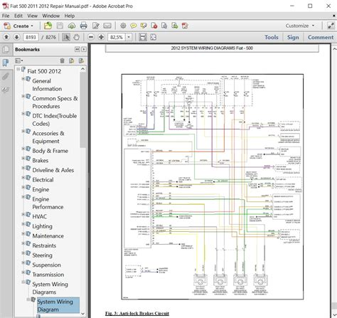 abarth 500 2013 misc documents wiring diagrams pdf fiat 500 wiring diagram pdf wiring library