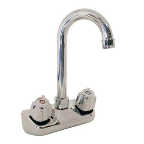Bkr Faucet by Bk Resources Bkf W 3g Wall Mount Sink Faucet W 4