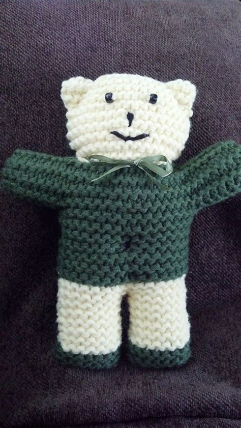 pattern for simple knitted teddy bear knitting patterns teddy bears for charity comsar for