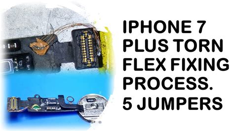 iphone   home button torn flex fixing process youtube