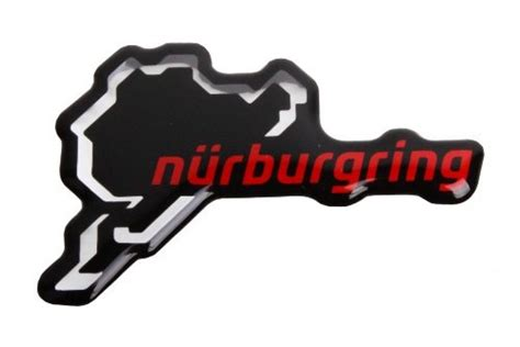 Nürburgring Aufkleber by N 252 Rburgring Aufkleber Logo 3d