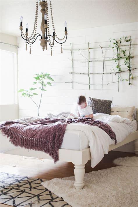 vintage modern bedroom 17 best ideas about tall bed frame on pinterest pallet