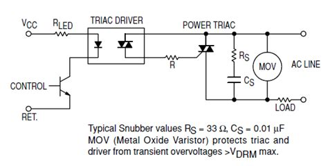 motor snubber capacitor gt circuits gt capacitor choosing components for a triacs snubber l25789 next gr