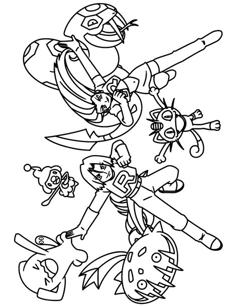 pokemon coloring pages team rocket pokemon team rocket coloring pages coloring home