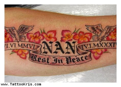 tattoo quotes nan quotes about nan quotesgram